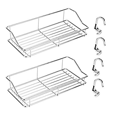 YOUTH UNION 2 PACK Adhesive Bathroom Shelf with...