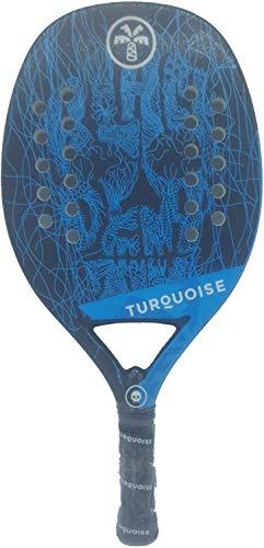 Turquoise Racchetta Beach Tennis Racket Black Death Team Blue 2019