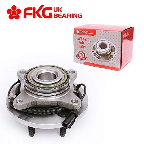 Price comparison product image FKG 515117 (2WD Only) Front Wheel Bearing Hub Assembly fit for 2009-2010 Ford F-150,  2010 Ford Expedition,  2010 Lincoln Navigator,  6 Lugs W / ABS