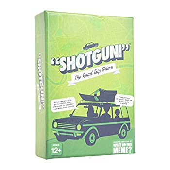 Shotgun! - The Hilarious Family Card Game for Road Trips - by What Do You Meme? Family