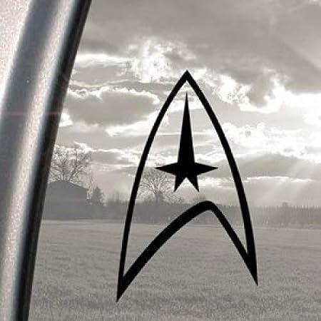 Vinyl Aufkleber Motiv Star Trek Schwarz Für Stoßstange Fenster Auto
