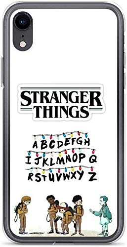 Transparent Soft TPU Protective Cover Case Pure Clear Case Compatible for iPhone 11 Pro Max Stranger Things Alphabet Lights