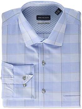 Van Heusen Men's Dress Shirt Regular Fit Air Plus