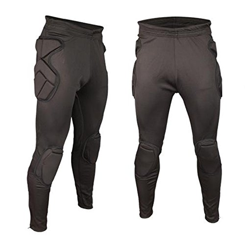 Generic pants, XL : 2016 New Professional Soccer Goalkeeper Kits Men Sponge Slim Skinny Football Long Leg Goal Keeper Goalie Sport Training Pants