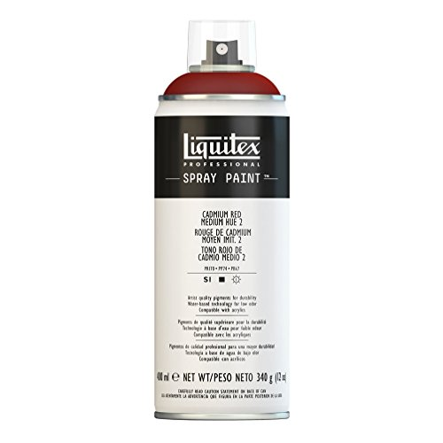 Liquitex Professional - Acrílico en spray, 400ml, rojo de cadmio medio (imit.) 2