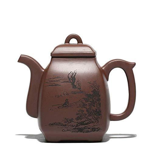 BINGFANG-W Coffee Kampo teapot ore Purple Clay teapot semi-Manual Tea Sets