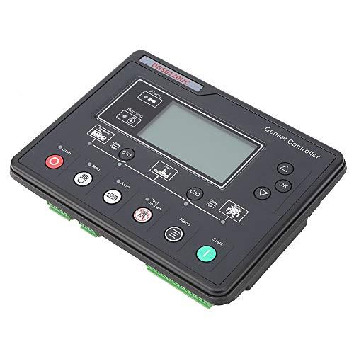 Nannigr Controlador Automático De Generador, Función De Control De Conmutación Automática Controlador De Grupo Electrógeno De Materiales Plásticos Premium 8 Idiomas para HGM6120UC