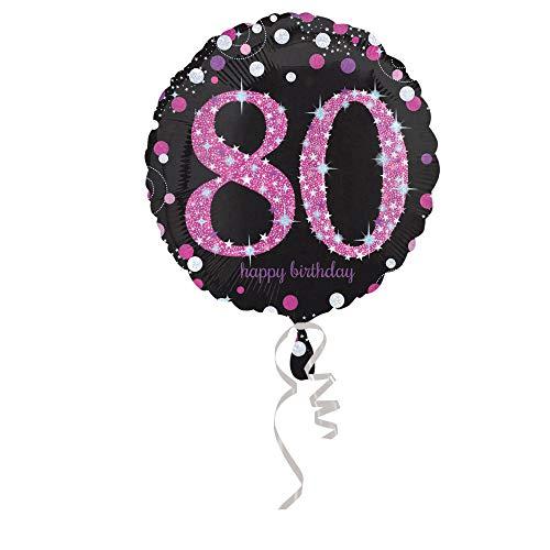 Folienballon 80. Geburtstag Celebration