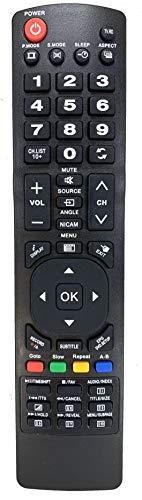 Ersatz Fernbedienung passend für Orion TV CLB50B1100 | CLB50B1200 | CLB55B1255S | CLB55B1256S | CLB55B4550S