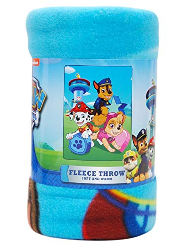 Northwest The Company Paw Patrol Throw Blanket, 46 Inch x 60 Inch, Multicolor
