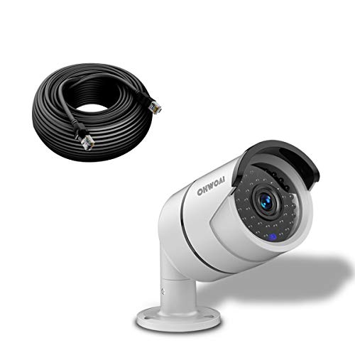 ip camera with poes OHWOAI 5MP Home POE Security Camera,Wired Outdoor/Indoor Surveillance IP Camera,Bullet Poe Video Camera with Audio,Night Vision,IP67 Waterproof,Motion Detection,Work for OHWOAI POE Camera System.