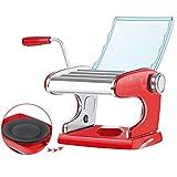 Generic002 Máquina de Pasta Pasta Maker - 6 Espesor Ajustes - 3 Cuchillas Máquina Manual for Hacer Pasta Fresca Espagueti y lasaña tallarines Fettuccine
