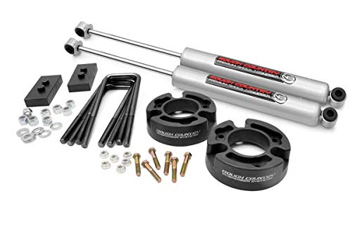 Rough Country 2.5' Leveling Kit (fits) 2004-2008 F150 | N3 Shocks | Suspension...