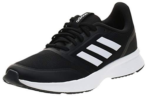 adidas Nova Flow, Zapatillas de Carretera Hombre, Negro Core Black FTWR White Grey Six, 44 EU