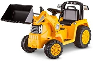 Kidtrax CAT Bulldozer/Tractor 6V Battery Powered Ride-On, Yellow by Kid Trax