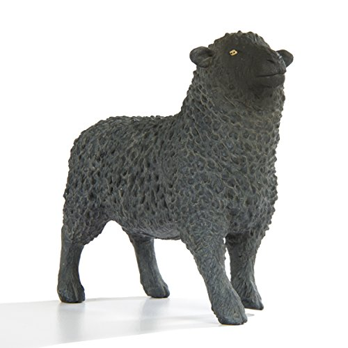 Safari Ltd. Farm Collection - Realistic Black Sheep Figure - Non-toxic and BPA Free - Ages 3 and Up