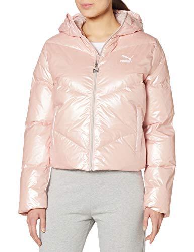 PUMA Damen Classics Steppjacke rosa L
