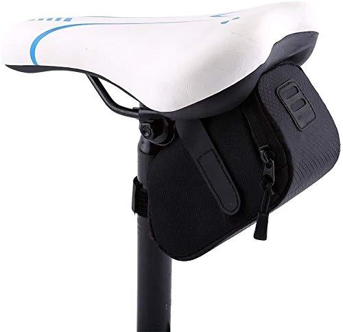 Einen.Kreislauf.durchmachensattel Aufbewahrungstasche Unter Sitzpaket Bike Bag Fahrrad hinten Sattel Fahrrad-Sitzbeutel-Endstück-Beutel-Paket (Color : A)