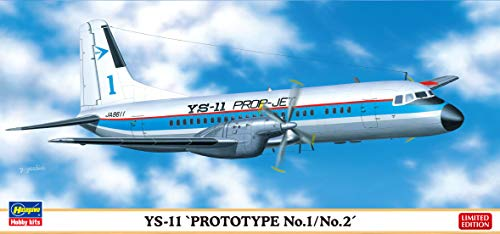 ハセガワ 1/144 YS-11 試作1号機/2号機 プラモデル 10836