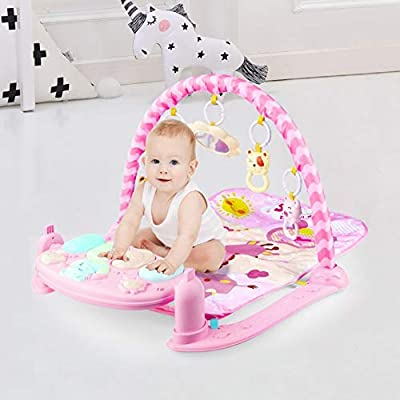 Play Mat Activity Gym for Baby,Baby Crawling Ga...