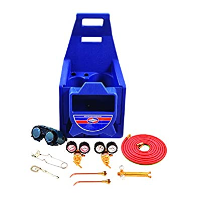 Uniweld KC100P Centurion Weld, Braze Outfit with 511 Plastic Carrying Stand