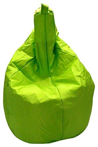 13Casa Nylon A7 Poltrona Sacco, Nylon, Poliestere, Verde, 120 x 80 x 80 cm
