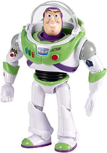Disney Pixar Toy Story 4- Pixar Toy Story Buzz L'Éclair avec visière – Figurine Articulée 17 cm, GGP60