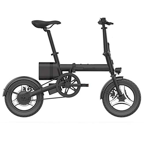 LKLK - Bicicleta eléctrica plegable con batería de iones de litio de...