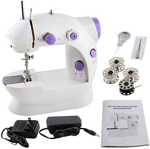 Portable sewing machine best for travel (2 pounds). SYS Score: 8.5