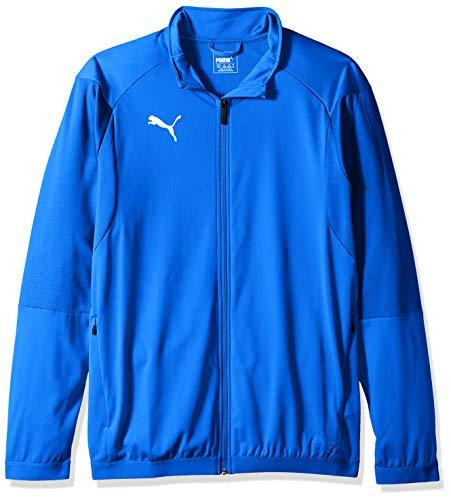 PUMA Herren LIGA Training Jacket Jacke, Electric Blue Lemonade/Puma Weiß, XXL