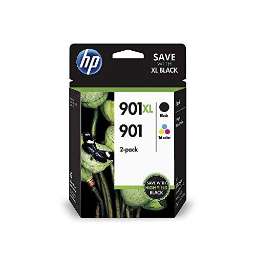 HP 901 Original 2 Druckerpatronen Multipack, blau/gelb/magenta/schwarz