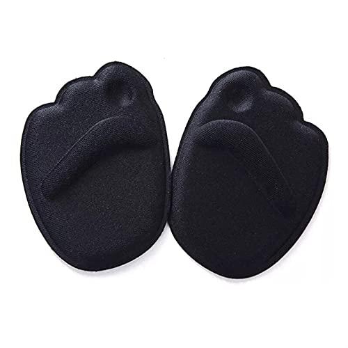 Almohadilla para el pie, 5 parines Almohadilla Suave Tacones Altos Tacones insolores Pie a pie Fiato de la Mitad del Yarda del Arco Mujeres Ortopedic tacón Protector Zapato Cojín para Hombre y Mujer