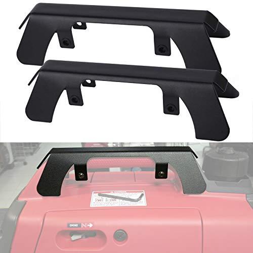 Yoursme Generator Theft Deterrent Brackets Protection for Honda Generator EU2200i, EU2000i, EU2000i Companion, EU2000i Camo Generator 63230-Z07-010AH (Pack of 2) -  HONDAS