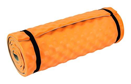 Highlander Matelas Isolant Comfort Camper Orange Orange 180 x 50 x 1.5 cm