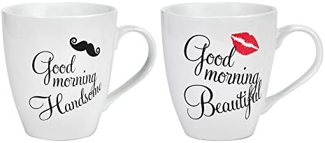 Top 10 Best his and hers coffee mugs set Reviews