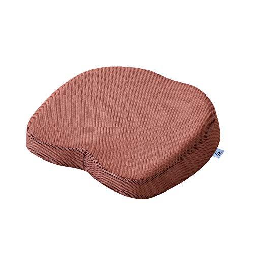 [Amazon限定ブランド]Sleep&Life 座布団 低反発 クッション 穴あきクッション ドーナツクッション シートクッション いす 高通気性 エコテックス認証 オフィス椅子 車シート S05