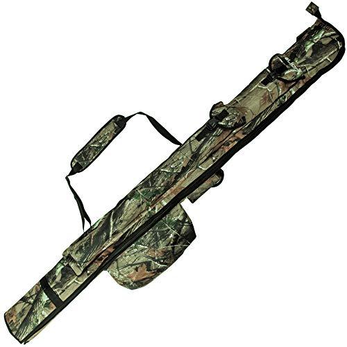 Lion Sports Camou Carp - Bolsa para cañas de pescar (1,90 m)
