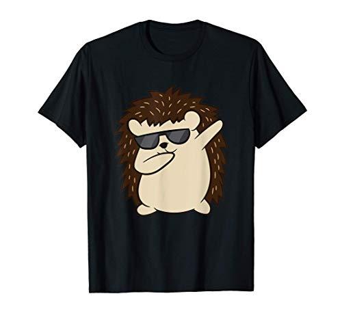 Dabbing Igel Liebe Igel Cartoon Igel T-Shirt