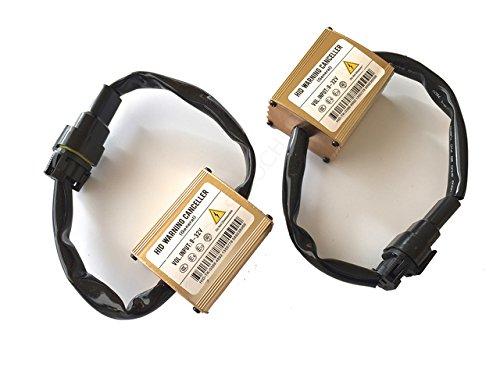 Unipower TMT LED (TM) HID Xenon Annulateur d'Erreur Ampoule Fondée Canbus Kit de Résistances Warning Cancellers (Kit de 2 Résistances)