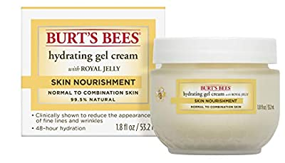 Burt's Bees Skin Nourishment Hydrating Gel Cream for Normal to Combination Skin, 1.8 Oz (Package May Vary)