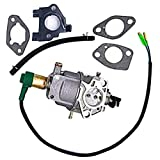 ELECTROPRIME Carburetor Kit Lawn Mower Gaskets Fuel Line Gas Generator EZ-DEK5650-CA