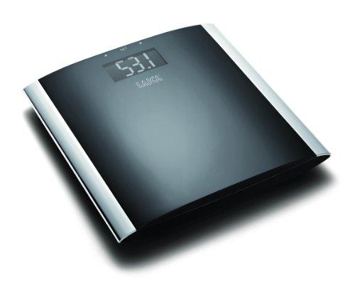 Laica PS6005 - Báscula de baño (LCD, Negro, 30,1 cm, 30,1 cm, 4,3 cm