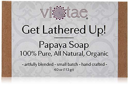 Vi-Tae Organic Papaya Soap, 4 oz.