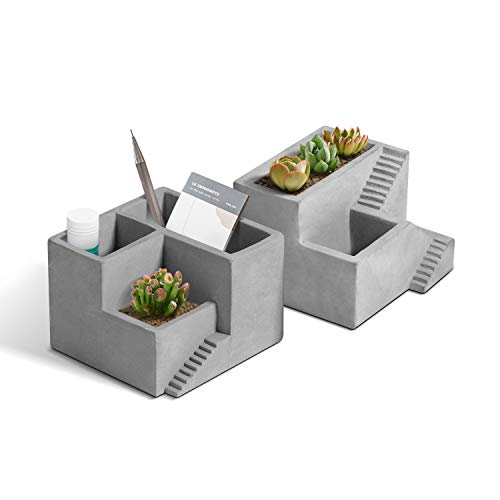 Planter With Pen/Pencil Holder