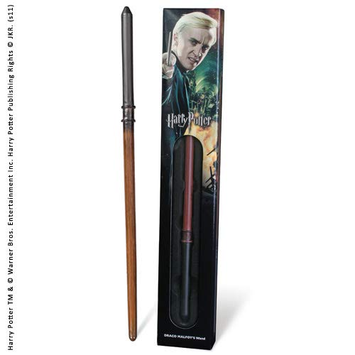 The Noble Collection Draco Malfoy Varita (Caja de Ventana)