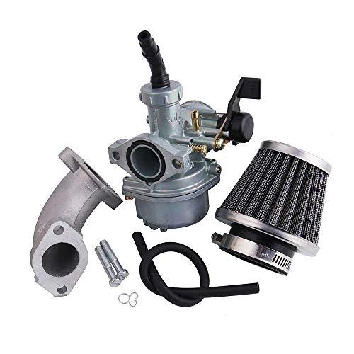 Carburateur Carb Inlaatpijp Luchtfilter Set Voor SSR Lifan 110cc 125cc CRF50 Pit Crossmotor Motorfiets ATV 22 MM