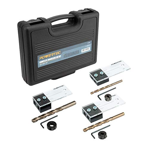 POWERTEC 71397 Ultimate Doweling Jig Kit – Precision Woodworking Series