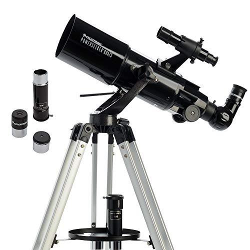 Celestron 21087 PowerSeeker 80AZS Teleskop – Schwarz