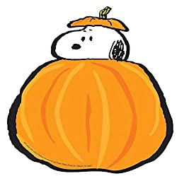 "Eureka Peanuts Fall Pumpkins Paper 5"" Tall Cut Out"