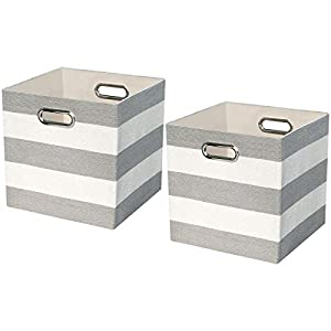 Posprica Storage Bins,Storage Cubes,Collapsible Fabric Storage Baskets Boxes Containers Drawers